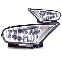 05-07 Honda Odyssey L&R Fog Lamp Assys clear lens w/chrome housing w/bulb (pair) - $157.45