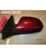 02 03 KIA SPECTRA DRIVER MANUAL MIRROR RED/BLACK *see item description* - $24.75