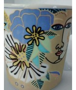 Vtg 1995 Laurel Burch Coffee Mug Cup The Spirit... - $16.87