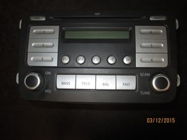 06 07 08 09 10 Vw Rabbit Jetta Radio Cd Player #1 K0035161 D Xx 937 *See Item* - $59.35