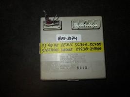 93 95 Lexus Sc300,Sc400 Steering Module #89230 24060 *See Item Description* - $21.03
