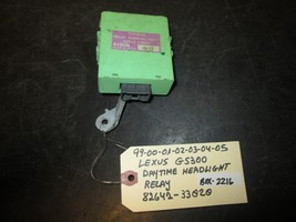 99-05 LEXUS GS300 DAYTIME HEADLIGHT RELAY #82642-33020 *See item* - $8.41