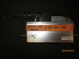 Bosch Abs Module Computer # 0 265 101 039 - $71.53