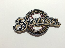 Milwaukee Brewers Embroidered Patch MLB Iron on Patch. Ships From Pa, USA - $2.99