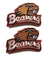 2 Brand New Oregon State Beavers Embroidered Iron on Patch Set (Smaller Size) - $6.85