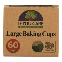 If You Care Baking Cups - Brown 2.5 Inch - Case Of 24 - 60 Count - $70.67