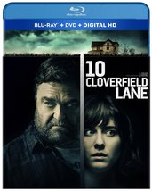 10 Cloverfield Lane (Blu-ray+DVD, 2016) New
