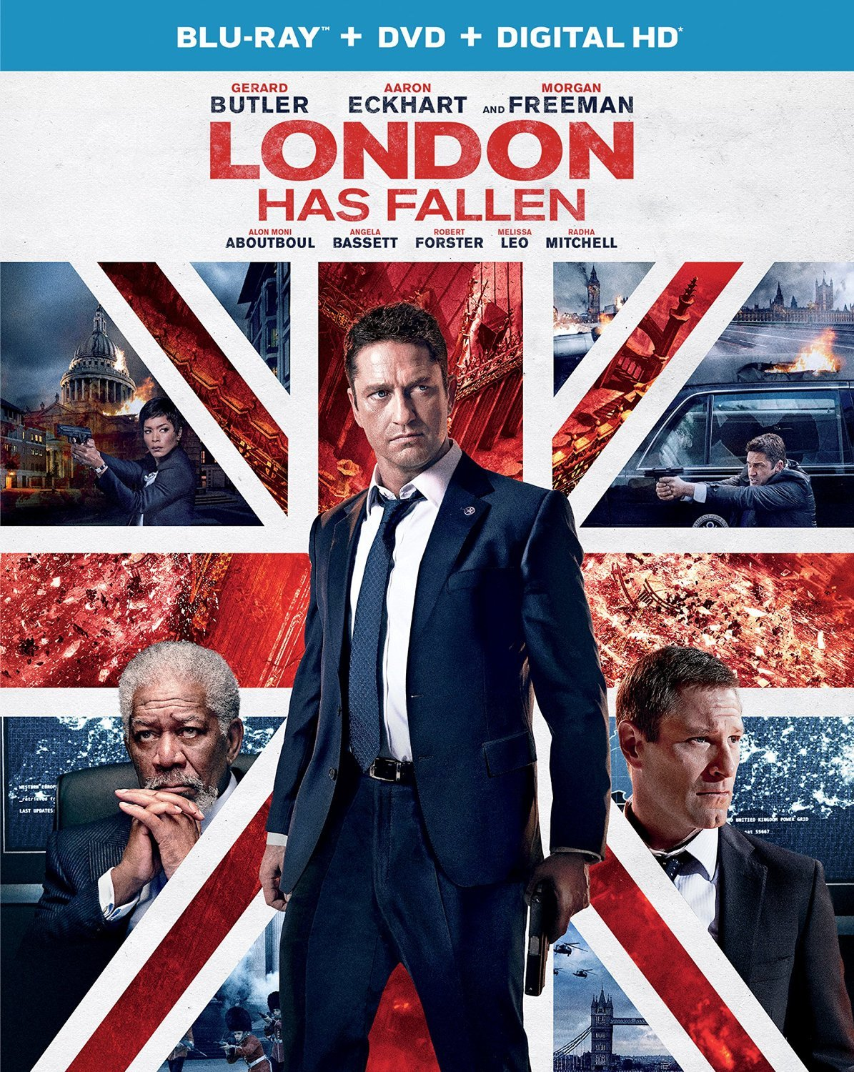 London Has Fallen (Blu-ray+DVD, 2016) New