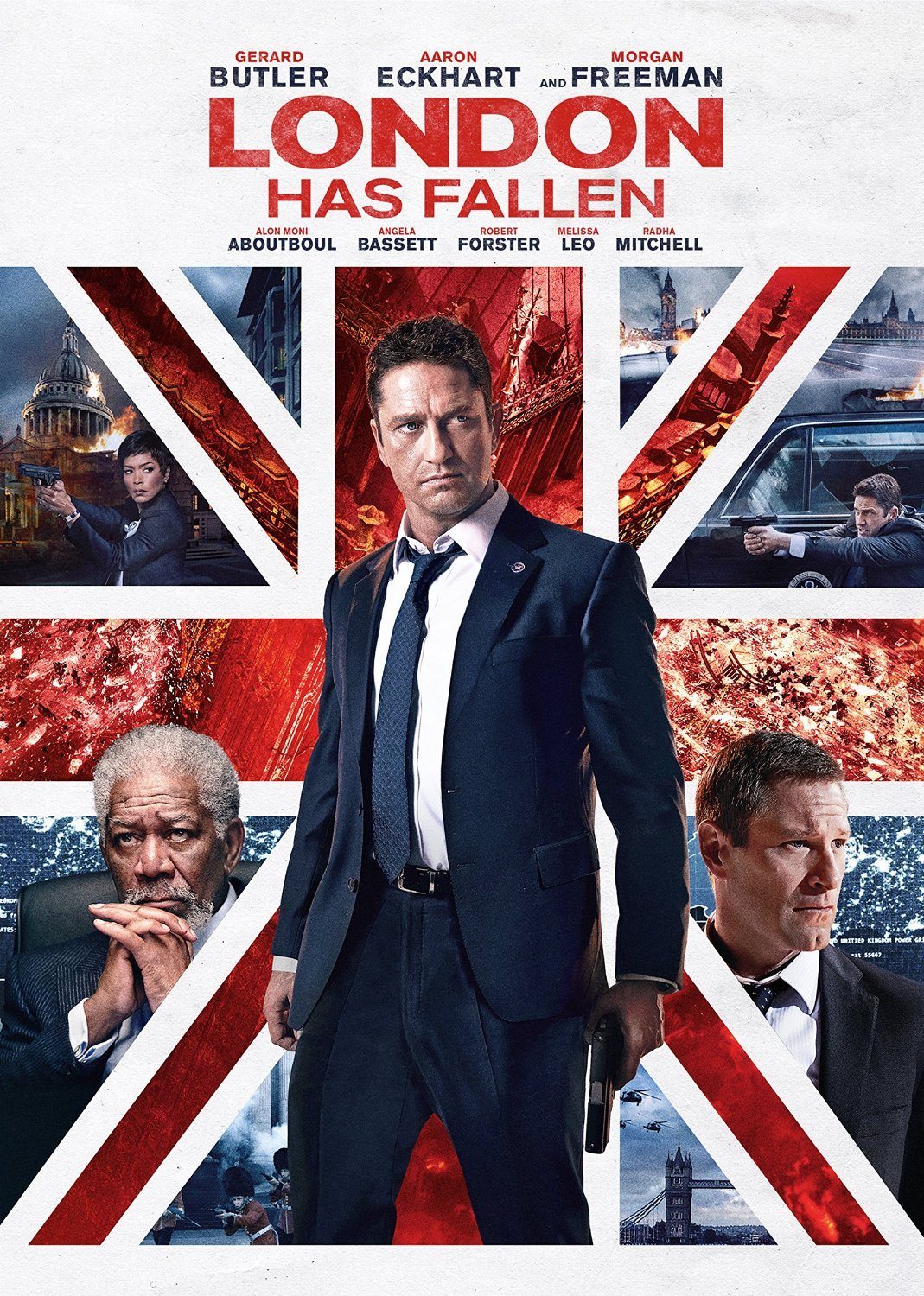 London Has Fallen (DVD, 2016) New
