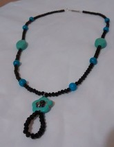 Beaded necklace/modern accessorie - $20.00