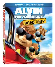 Alvin and the Chipmunks: The Road Chip (Blu-ray/DVD, 2016, 2-Disc, Digital) New
