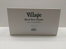 "DEPARTMENT 56 VILLAGE SERIES  ""BIRCH TREE CLUSTER"" -NEW Sealed 52631 - $34.65"
