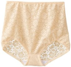 Rago Women's V Leg Extra Firm Control Brief Panty, Beige, 8X-Large (46) - $22.77