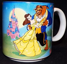 Vintage Retired Disney Beauty And The Beast Belle Dance Retired Coffee M... - $43.99