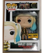 DC Funko Pop Suicide Squad Harley Quinn Gown #108 Hot Topic Exclusive Fi... - $19.95