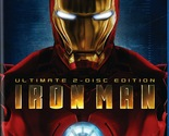 (Used) Iron Man: Ultimate Edition 2-Disc Blu-ray Set Out of Print
