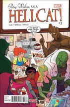 Marvel PATSY WALKER, A.K.A. HELLCAT! #3 VF/NM - $2.29