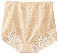 Rago Women's V Leg Extra Firm Control Brief Panty, Beige, 5X-Large (40) - $22.77