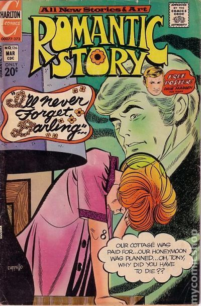 Primary image for Charlton ROMANTIC STORY #126 VG