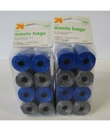 2 PKGS Doggie Poo Bags UP & UP 240 Bags Total - $16.82