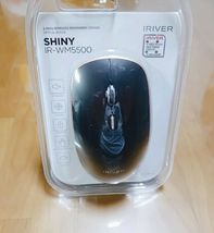 iRiver IR-WM5500 Wireless Mouse Low Noise Click 2.4Ghz DPI control Mouse (Black) image 7