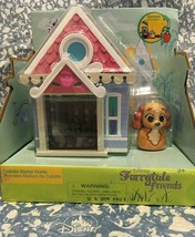 Disney furrytale friends Collette starter home playset from lady and the tramp - $13.12