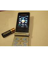 Rare Vintage Sony Ericsson Z770i - Black Silver (Unlocked) Working Condi... - $49.98