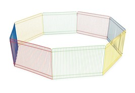 NEW!! Portable Small Pet Playpen Indoor Outdoor Exercise Cage Camping Ga... - $35.85