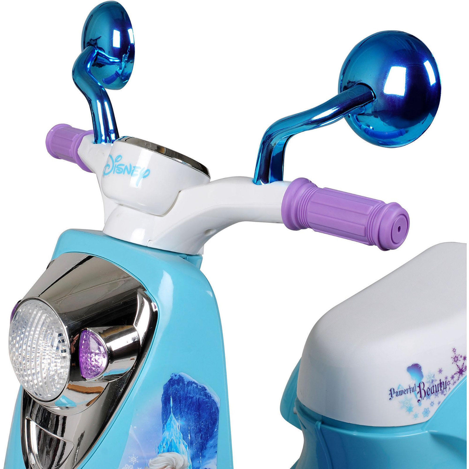 new disney frozen 3 wheel scooter 6 volt battery powered ride on toys kid us ride on toys. Black Bedroom Furniture Sets. Home Design Ideas