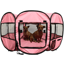 "NEW!! 45"" Pet Dog Cat Playpen Tent Portable Exercise Kennel Cage Crate US - $49.99"