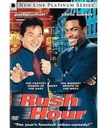 Rush Hour (DVD, 1999, Platinum Series) Jackie Chan, Chris Tucker - $2.99