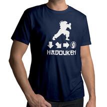 *NEW* Street Fighter Ryu Ken Hadouken Combo Attack Gaming T-Shirt Tee LARGE - $18.00