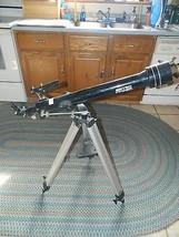 2002 Meade Astrofinder Model 60 Telescope With Tripod - $56.06