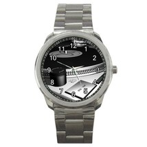 DJ Turntables Sport Metal Watch Gift model 32977750 - $15.99