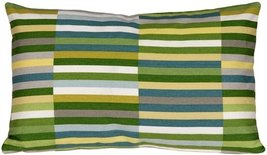 Pillow Decor - Waverly Side Step Marine 12x20 Throw Pillow - $39.95