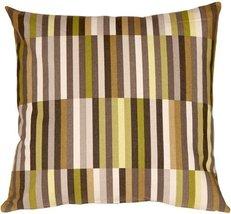 Pillow Decor - Waverly Side Step Avocado 20x20 Throw Pillow - $49.95