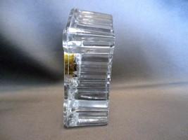 """Edinburgh Crystal Miniature Mantel Clock 2"""" image 3"""