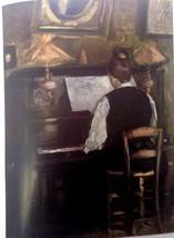 M. Gaston at the Piano (MINI PRINT) By Raoul Dufy - $50.00