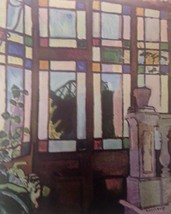 Window with Colored Panes (MINI PRINT) By Raoul Dufy - $50.00