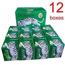 White Tiger Balm, 12 boxes x 20 grams,  Vietnam Tigre Blanc Ointment, Free Ship - $49.49