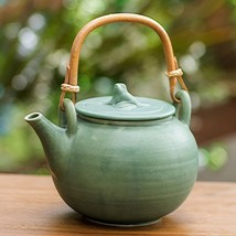Ceramic 'Frog Song' Teapot (Indonesia) - $111.21