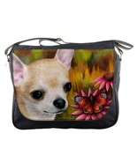Messenger Bag Purse Handbag Dog 85 Chihuahua fl... - $46.99
