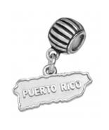 Coqui el Original® 3D Sterling Silver .925 Map of Puerto Rico - $70.00