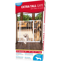 Carlson Pet Extra Tall Walk-through Gate W/door 891618007419 - $60.85