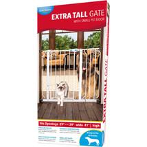 Carlson Pet Extra Tall Walk-through Gate With Door 891618007419 - $59.70