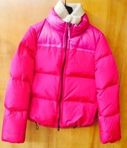 Authentic Coach Women's Puffered Leg Down Jacket Fuchsia   Small - $232.82