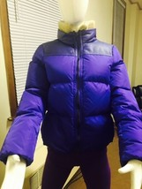 Authentic Coach Women's Puffered Leg Down Jacket Violet   Small - $232.82