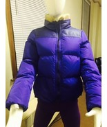 Authentic COACH Women's Puffered Leg Down Jacket VIOLET - SMALL - $232.82
