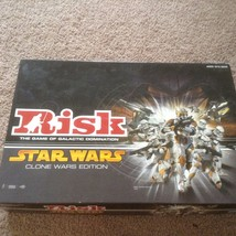 Star Wars Risk The Clone Wars Board Game EUC - $13.42