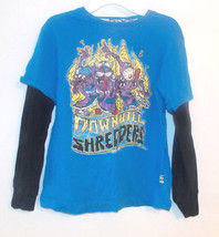 Shaun White Boys Long Sleeve Downhill Shredders T-Shirt Size Med 8 EUC - $12.60